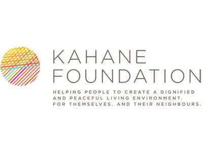 Logo Kahane Stiftung