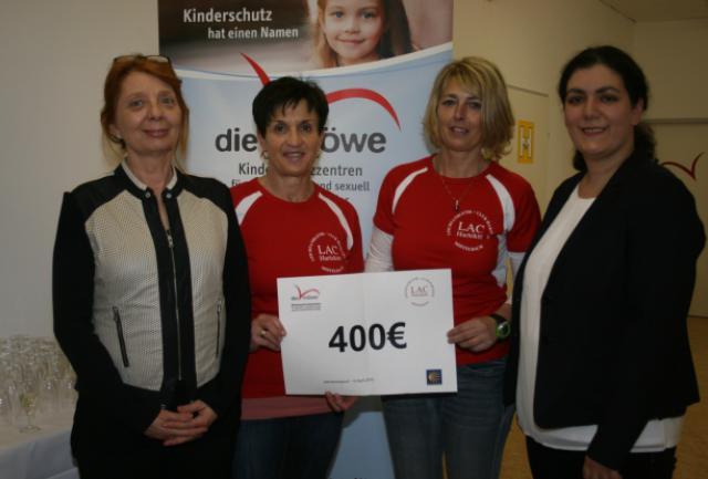 Am Foto v. l. n. r.: Elisabeth Klammer-Marass, Elisabeth Köchl, Silvia Tutschek, Mag. Simin Reichel