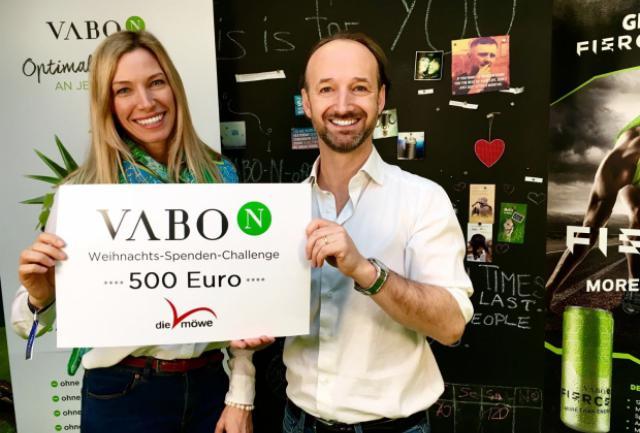 Scheckübergabe Firma Vabo-N 2016