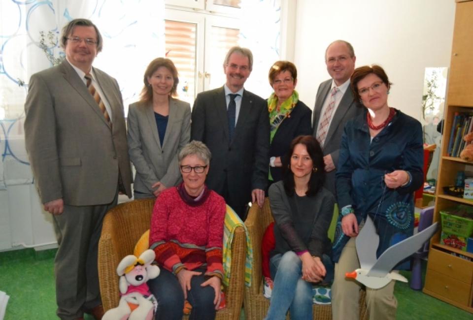 Eröffnung des Kinderschutzzentrums MIstelbach